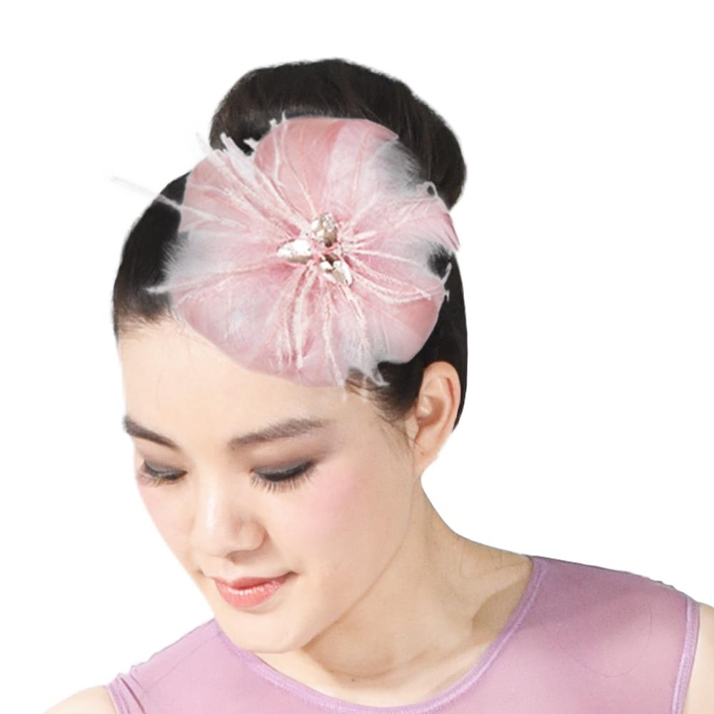 MiDee Luxurious Feather Hair Flower Head Decoration Headpiece accessories Wedding Formal Fashion headpiece