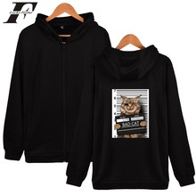 Bad Cat Hoodies zipper pockets baseball uniform hoodie men fashion Creative zipper Hoodies & Sweatshirts Bad Cat