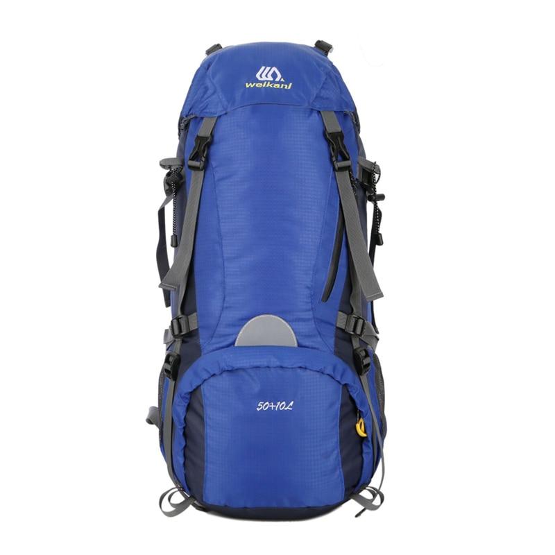 50L Large Capacity Men Backpack Waterproof Travel Backpack Multifunctional Bags Outdoor Sports Camping Hiking Climbing Rucksack
