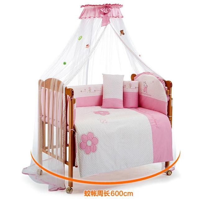 Schöne Baby Bett Moskitonetz, Rosa Baldachin Babybetten  Insektenschutznetze, Prinzessin Bett Himmelbett Netting Zelt Mosquiteiros