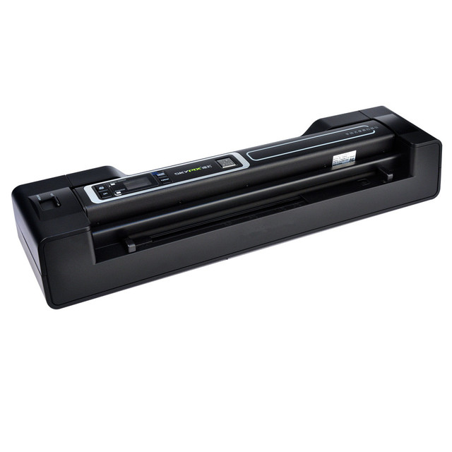 high speed Handheld A4 Document Scanner with automatic paper feeding Portable Scanner 1200dpi Free shipping