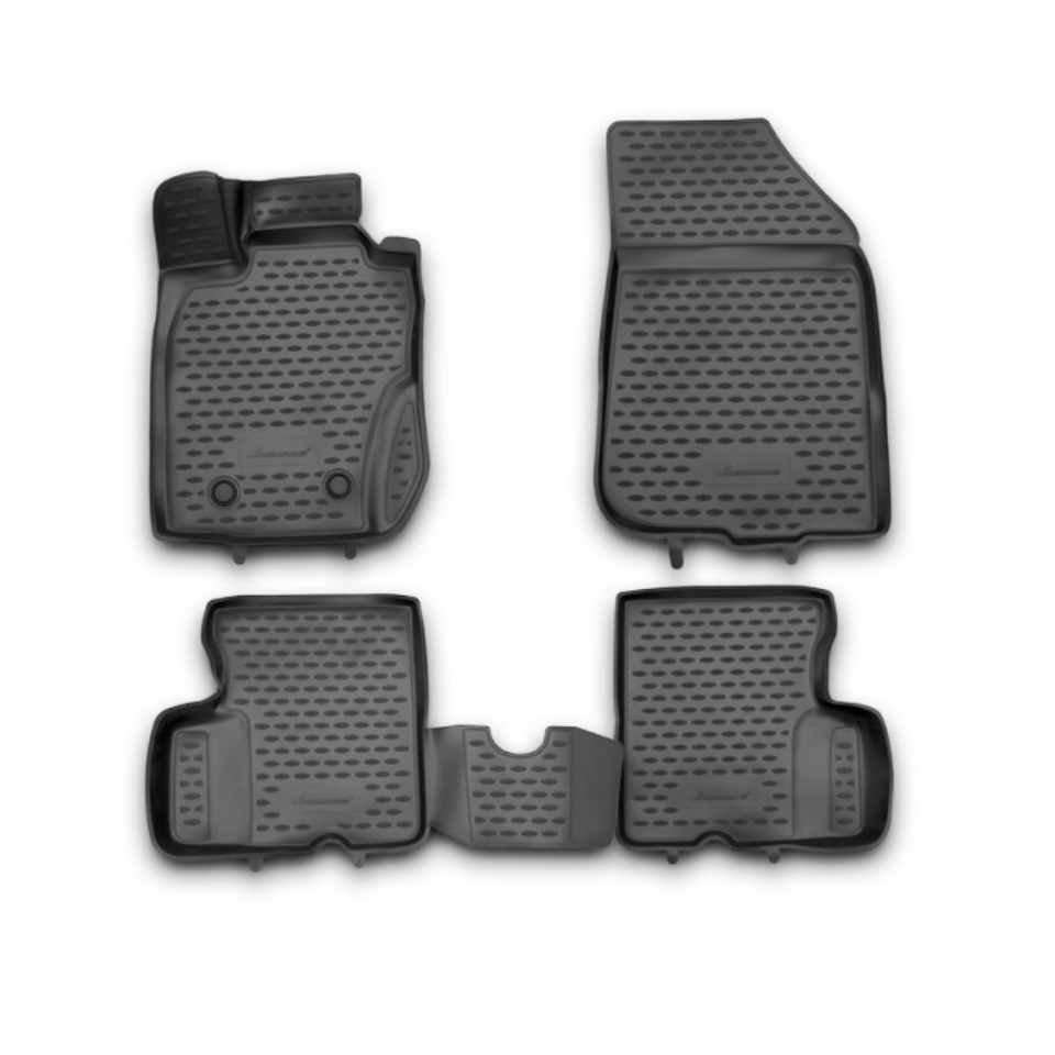 3D Floor mats for Renault Duster 4WD 2011 2012 2013 2014 Element NLC3D4128210KH