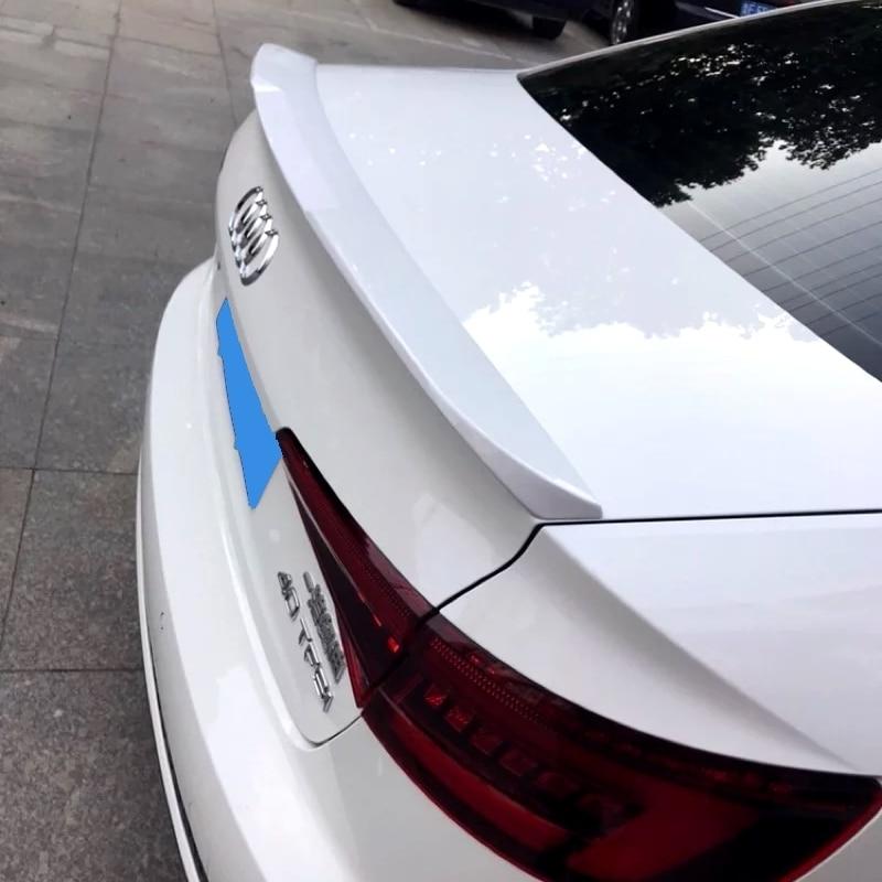 Для Audi A4 B9 2017 2018 задний багажник спойлер Высокое качество ABS Материал грунтовка Цвет для хвостовой части автомобиля декоративное крыло