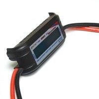 HTRC 60V 200A High Precision Watt Meter Voltage Amp Meter Power Analyzer 8 Gauge Wire