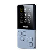 Mrobo c6 MP3 Oyuncu Taşınabilir Dijital Ses Çalar Ile 1.8 Inç Ekran FM E kitap Saat Veri müzik Çalar hoparlör tf kartı