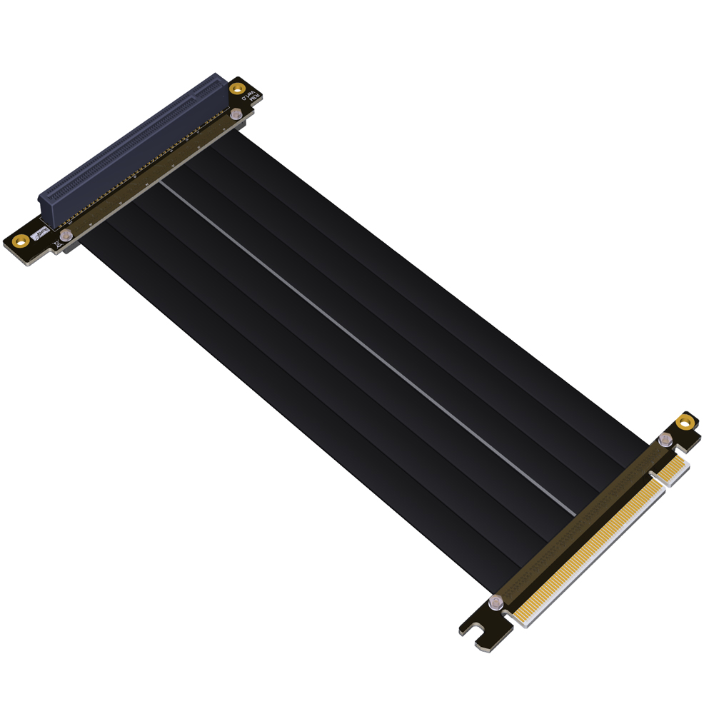 PCI-E 16x To 16x Riser Extender PCIe Mining Cable For Gen3.0 PHANTEKS ENTHOO Evolv Shift PH-ES217E/XE PK-217E/XE ITX Motherboard