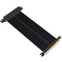 PCI E 16x To 16x Riser Extender PCIe Mining Cable For Gen3.0 PHANTEKS ENTHOO Evolv Shift PH ES217E/XE PK 217E/XE ITX Motherboard