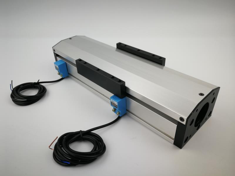 Envío Gratis GF80 1204 1610 1605 100mm sellado a prueba de polvo Ballscrew Slide Rail guía de movimiento lineal mesa móvil + 2 piezas interruptor de límite
