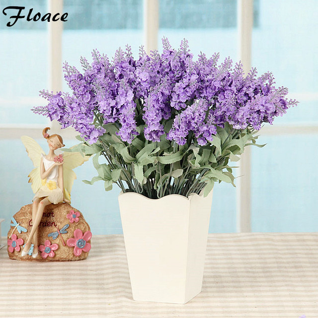 floace silk flower decoration flower dining table wooden vase