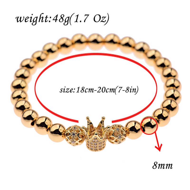 HTB114IGbizxK1RjSspjq6AS.pXat - Gold Crown coupe bracelets 2pcs set