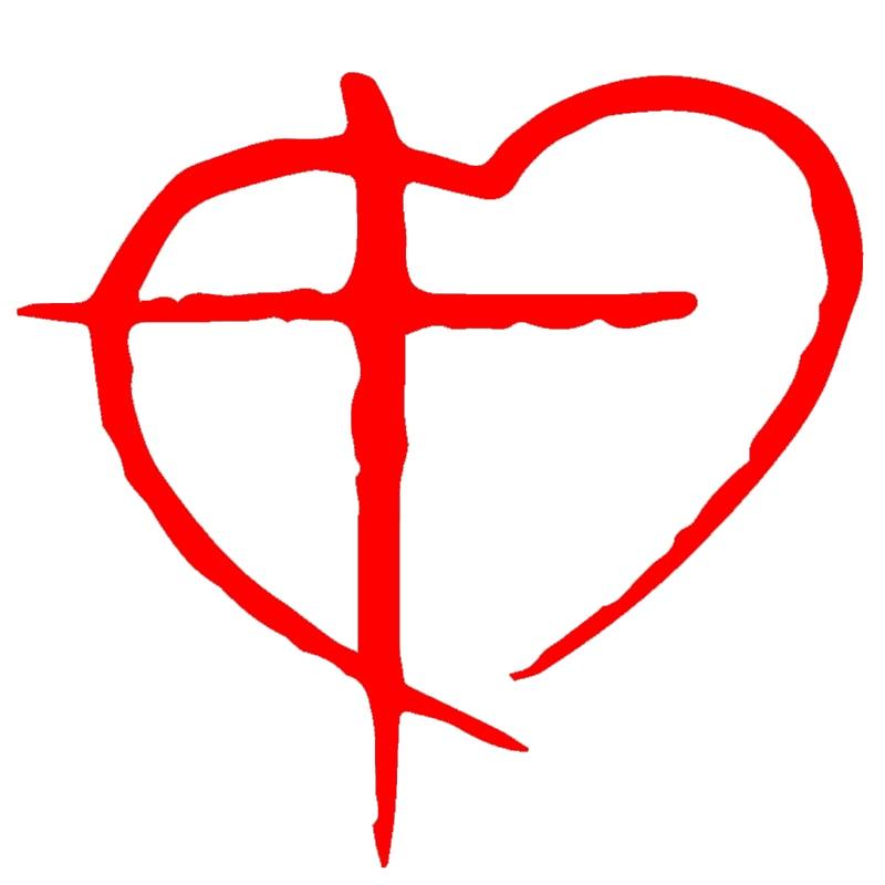 Wholesale 50pcs Lot Cross Heart Christian Catholic Church