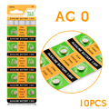 cheap 2-Day-PromotionCheap cell batteries Pack Of 20 AG0 379 V520 Batteries 1.55V Alkaline Button Game Toy Watch Coin Cell