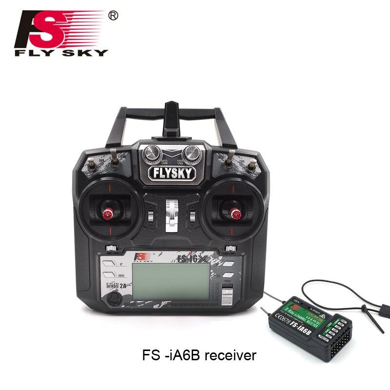 FS-i6X FS I6X 2.4G RC transmetteur contrôleur 10/6CH iA6B récepteur i6 mise à niveau pour drone multi-rotor hélicoptère RC