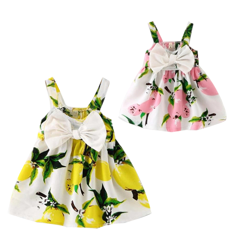 Summer Baby Girl Dress Cotton Baby Girl Clothes Newborn Baby Clothes Lovely Flower Roupas Bebe Infant Baby Clothes Kids Clothing