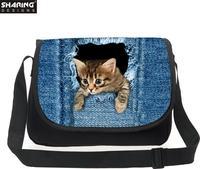 Children Crossbody Bags Cute Animal Dog Printed Women Girls Messenger Bags Ladies Sling Casual Bag Bolsos Mujer Kids Handbag