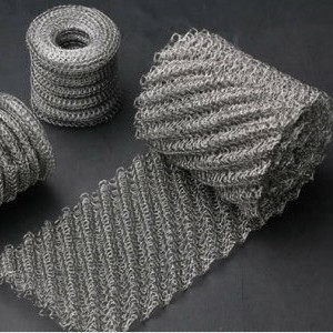 Knitted Monel Wire Mesh(Monel400) sparta 300 warrior paragraph wire mesh tactical mask wire mesh mask