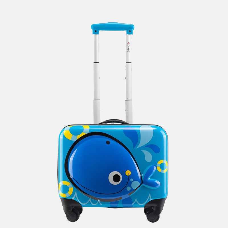 a32fa478f158 US $119.0 15% OFF|ABS+PC Children's suitcase,Cartoon mini luggage,Male and  female baby travel 18