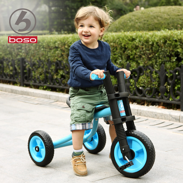 Children tricycle bike 1-2-3-5 years old baby children toy car buggy by bike