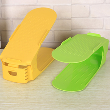 Simple one-piece plastic shoe rack Home Supplies college dormitory bunk satisfied collection