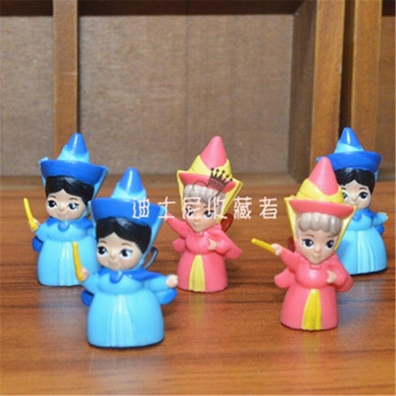 60piece 3.5cm cute princess Emerald Fairy Adorable Collectible Model collection figure toys