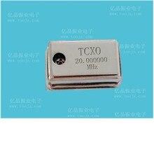 טמפרטורת פיצוי קריסטל מתנד TCXO דיוק גבוה 0.1PPM 11.2896 mhz, 12 mhz, 16.384 mhz, 16.9344 mhz, 30 mhz, 48 mhz, 5
