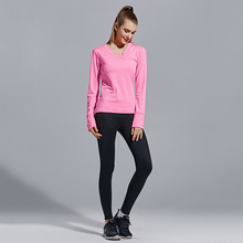 3 Yoga Sets women fitness breathable female Exercise Shirts running sport costumes for women Athletic Vest women's tracksuits