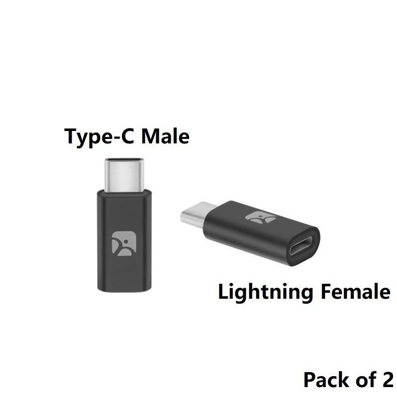 Meenova Lightning Female to Type C Male Adapter, Lightning Cable with Type C  Adapter, USB C Male to 8 Pin Female Convert Adapter 8 pin female pin  adapter8 pin to - AliExpress