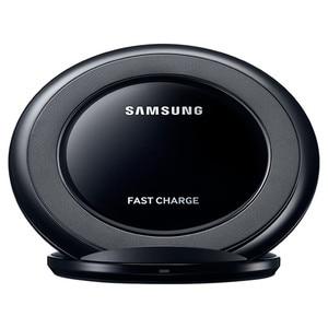 Image 2 - Originale Per Samsung Caricatore Senza Fili Qi Pad Ricarica Veloce Per Samsung Galaxy S10 S9 S8 Più S7 bordo Note10 +/iPhone 8 Più di X,EP NG930