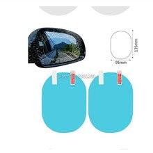 Автомобильное зеркало заднего вида дождь и противотуманная пленка для fiat 500x seat ibiza 6l ssangyong toyota auris honda civic 2006-2011 opel astra j