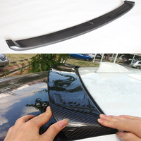 F10 M5 HM Styling Carbon Fiber Car Rear Roof Spoiler wing for BMW F10 M5 Sedan 2011 2015