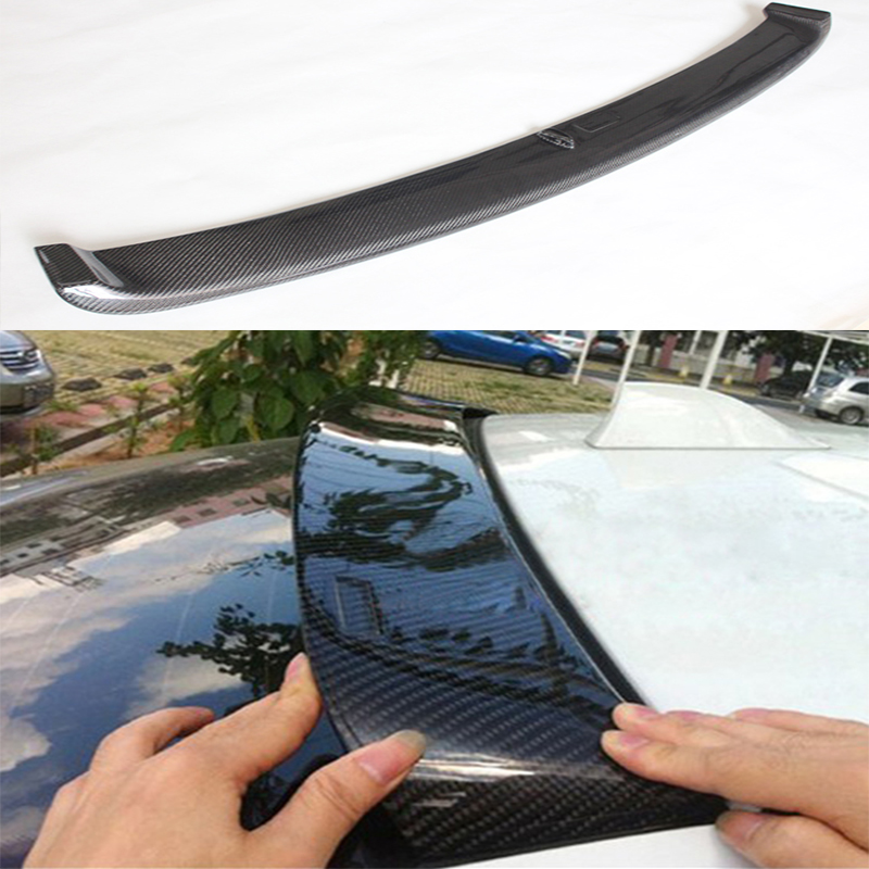 F10 M5 HM Styling Carbon Fiber Car Rear Roof  Spoiler wing for BMW F10 M5 Sedan 2011-2015 запчасти