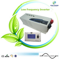 CE ROHS Approved 4kw Reliable Pure Sine Wave Inverter Low Frequency Inverter 4000w