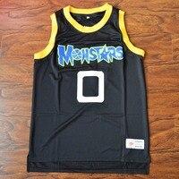 MM MASMIG Alien #0 Monstars de Basket-Ball Jersey Piqué Marine S M L XL XXL XXXL