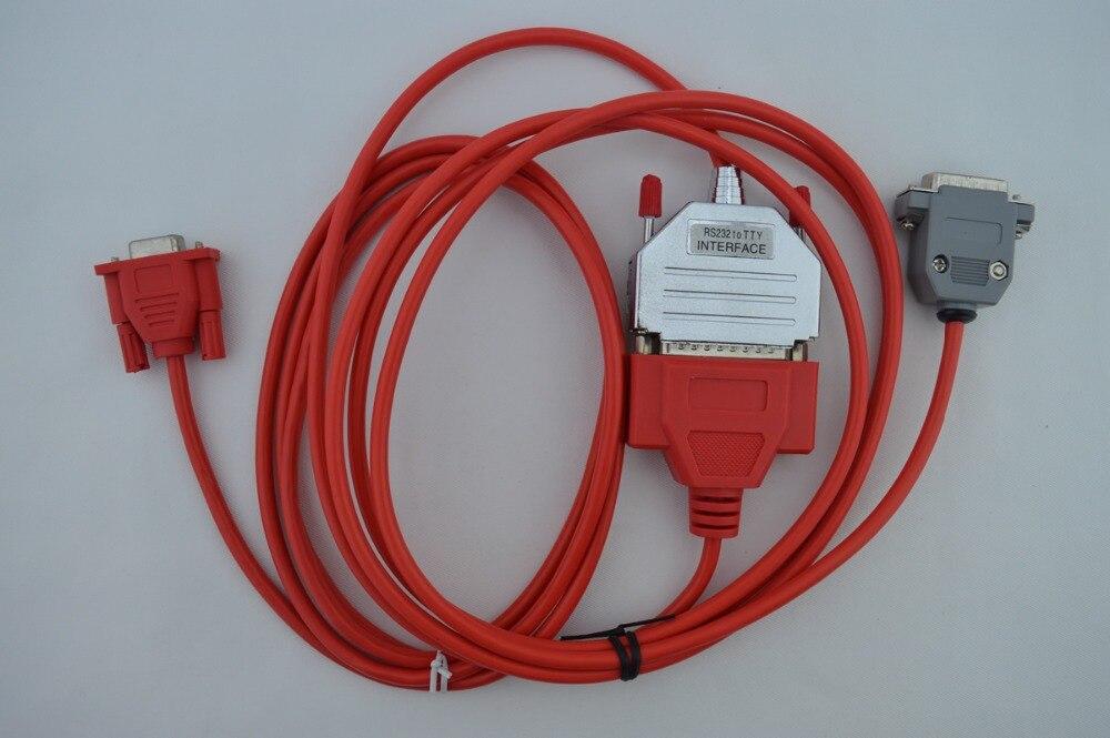 DB15 6ES5 734-1BD20 S5 PLC adaptador PC TTY SIMATIC S5 734-1 Cable Morismoon PC-TTY PC//TTY RS232 S5 cable 6ES5734-1BD20