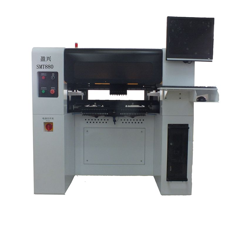 Good Sale Visual Position Placement Machine New Manual Pick and Place Machine MT880 with 80 feeders and Servo motor/Screw Guide