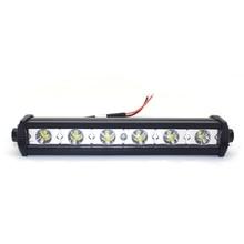 Auto Luce del Lavoro del LED Bar Lampade A LED Lampada del Riflettore 18 W 12 V Nebbia di Guida Fuori Strada del Lavoro Luce Auto per ford Toyota SUV 4WD LED travi