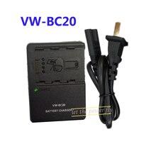 VW-BC20 VWBC20 Camera Battery Charger For Panasonic VW-VBN130 VW-VBN260 SD800 HS900 TM800 TM900 SD900 X900 X920 Camcorder