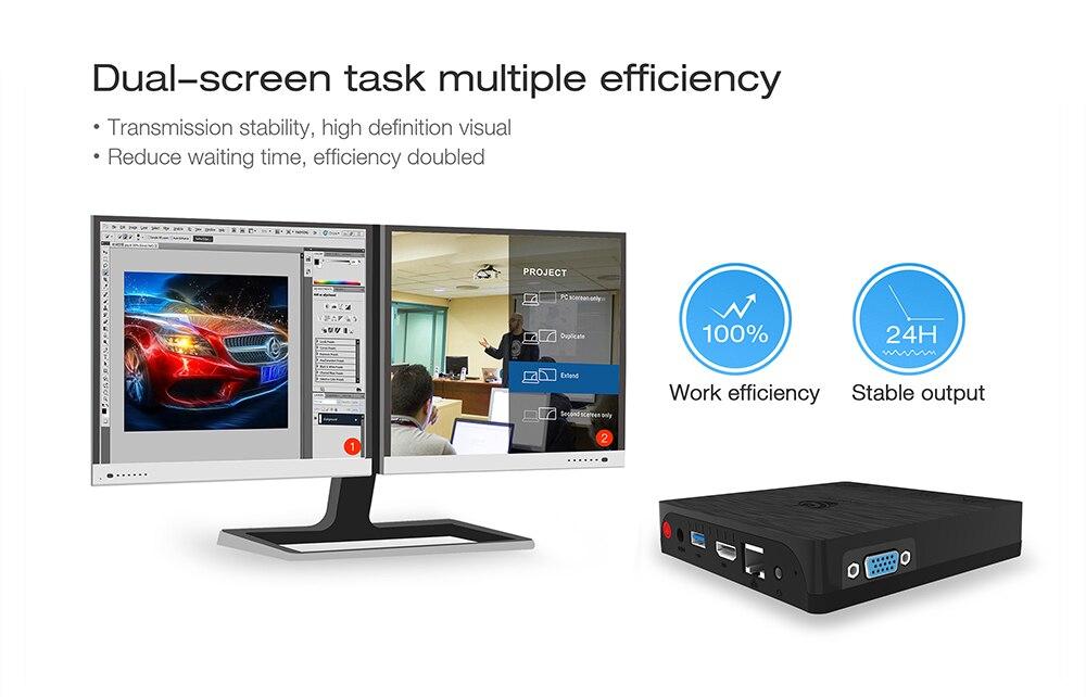 Beelink BT3 Pro TV Box Mini PC Win10 Linux Ubuntu Intel Atom X5-Z8350  2 4/5 8GHz WiFi Bluetooth 4 0 4G 64G 1000Mbps LAN PK AP42