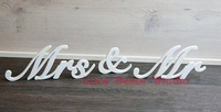 Wedding Sign Mr & Mrs,PVC letters table decor, Wedding gift wedding decoration MR&MRS letters