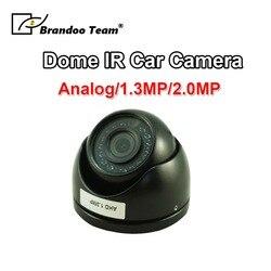 Mini kopuła 720 P/1080 P IR Night Vision wewnątrz kamera do samochodu autobus Taxi nadzoru
