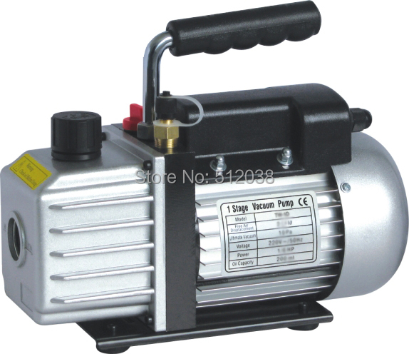 single stage rotary vane vacuum pump  3CFM  1/4HP 220V