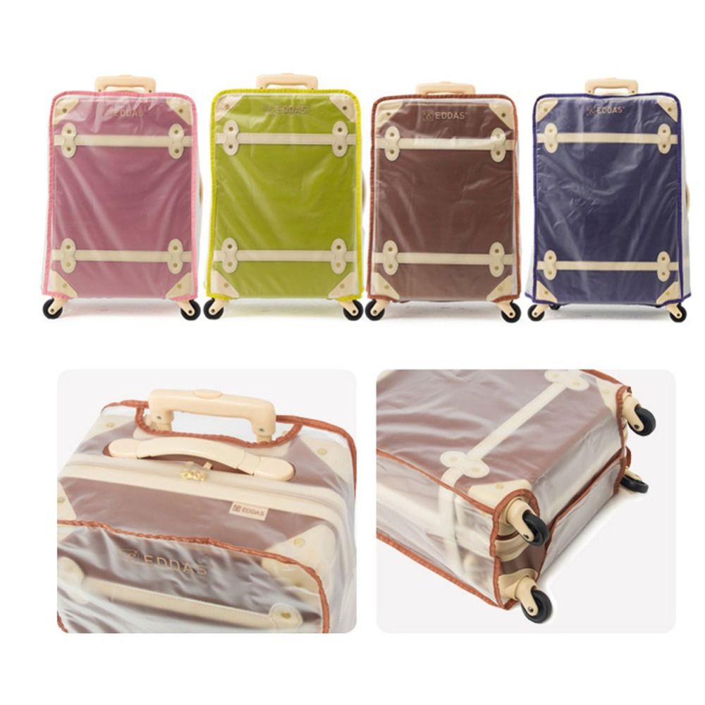 84be612ce [EDDAS] Vintagae Luggage EV 501 Travel Rolling Hard Shell Suitcase Carry on Spinner  Wheel (20inch) Brown, Pink, Green, Blue-in Travel Bags from Luggage ...