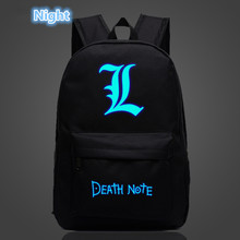 Teenager's Death Note Style Bag