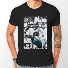Death Note L Manga Strip Kira Ryuk Anime Unisex T Shirt T-Shirt Tee All Sizes T-Shirt 2019 New Fashion Brand Tee Shirts(China)
