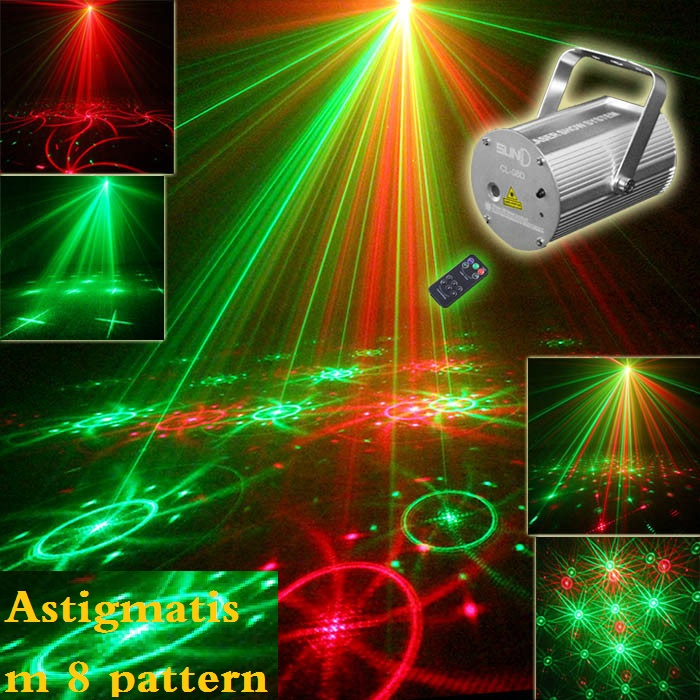 ФОТО 40-in-1 remote control bar ktv laser light voice lights dynamic stage lighting
