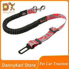 DannyKarl New 2019 Pet Leash Dog Car Safety Belt Rope Telescopic Explosion-Proof Fixed Traction