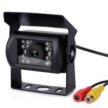 Uniwersalna kamera samochodowa na lusterko wsteczne kamera samochodowa z powrotem do szkolne autobusy ciężarówki duże pojazdu kamera cofania Parking kamery
