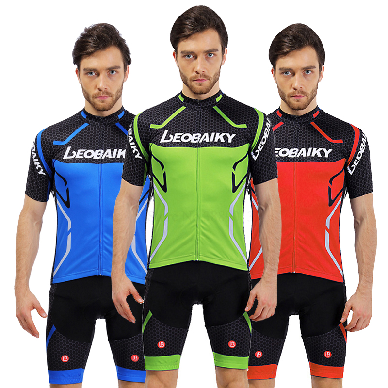Pro Team 2018 Summer Cycling Jersey Set Mountain Bike Clothing MTB Wear  Bicycle Clothes Mens Cycling Kits Short Sleeve 3D Padded bd14e84eb