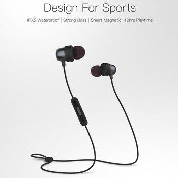 IPX5-rated Sweatproof Bluetooth Headphone with microphone - QY20 1