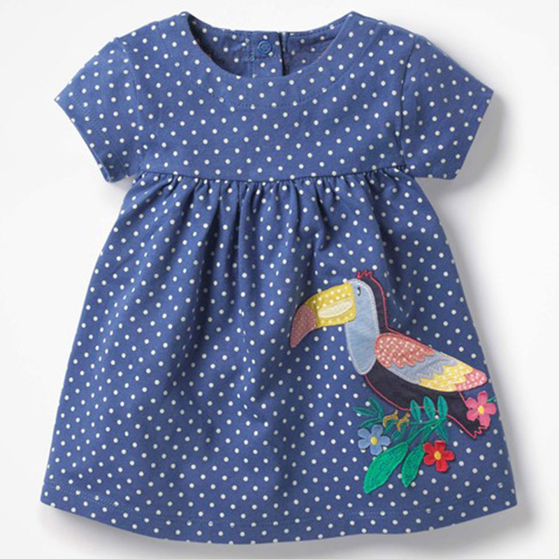 Barn Baby Girl Clothing Set 2018 Outfits Animal Pattern Party ... 16a5e32a47d4c